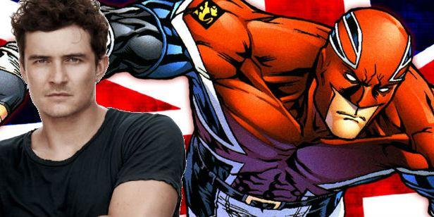 Marvel: Orlando Bloom quiere interpretar a Capitán Britania