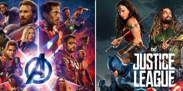 La recaudación local de 'Vengadores: Infinity War' supera a la internacional de 'Liga de la Justicia'