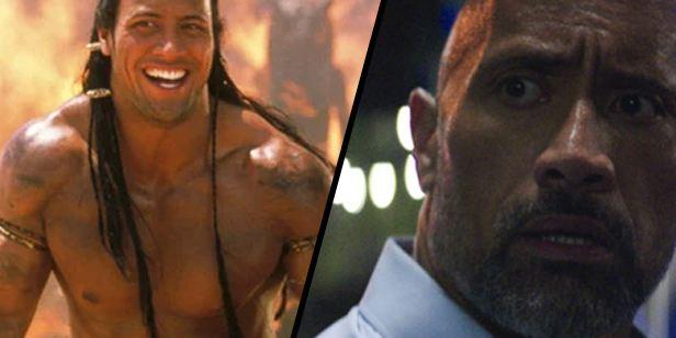 La evolución de Dwayne Johnson en 20 películas: de 'El regreso de la momia' a 'El rascacielos'