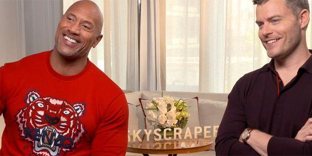 """Dwayne Johnson: """"En el fondo, 'El rascacielos' es una película sobre la familia"""""""