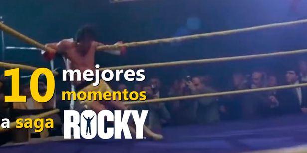 VÍDEO: Los 10 mejores momentos de la saga 'Rocky'