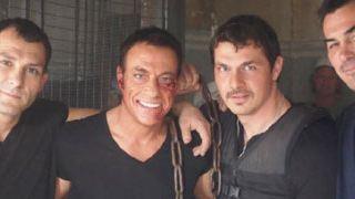'The Expendables 2': nuevas imágenes del rodaje con Jean-Claude Van Damme