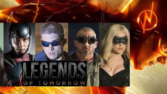 'DC's Legends of Tomorrow': CW ordena una temporada completa del spin-off de 'Arrow' y 'The Flash'