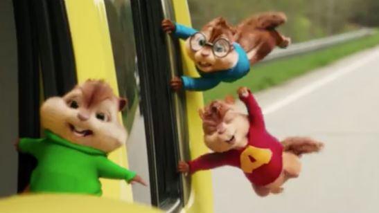 'Alvin y las ardillas: The Road Chip': Primer 'teaser' tráiler de la cuarta película de la franquicia