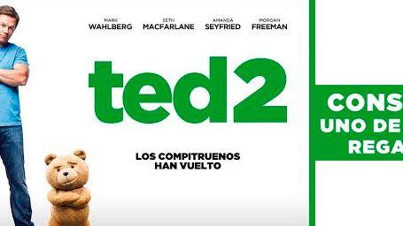 ¡Gana entradas para ver 'TED 2' y al mismísimo oso TED!