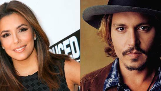 Johnny Depp y Eva Longoria preparan series de televisión para Fox y ABC respectivamente
