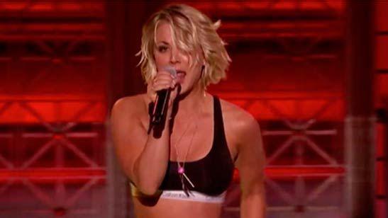 'The Big Bang Theory': Kaley Cuoco baila y rapea en un original programa estadounidense