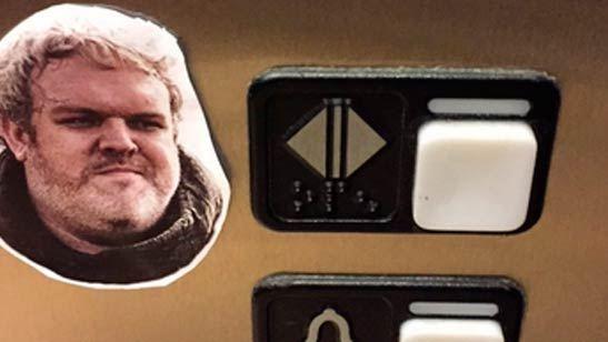 'Juego de tronos': el divertido homenaje a Hodor que están rindiendo los fans en ascensores de todo el mundo