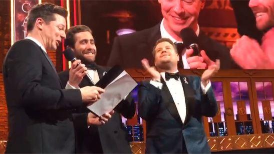 Jake Gyllenhaal, Sean Hayes y James Corden cantan 'Un Mundo Ideal' de 'Aladdín' en los Premios Tony