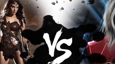 ENFRENTADOS: Wonder Woman VS Captain Marvel