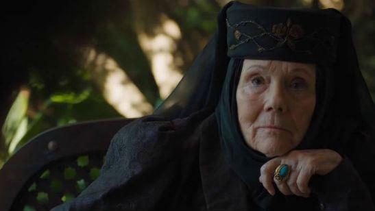 'Juego de Tronos': Una nueva escena eliminada muestra a Olenna Tyrell conspirando contra Cersei