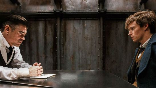 'Animales fantásticos y dónde encontrarlos': Colin Farrell le dio un masaje a Eddie Redmayne antes de la Comic Con de San Diego