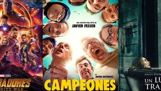 'Vengadores: Infinity War' lidera la taquilla española y recauda más de 7,2 millones de euros