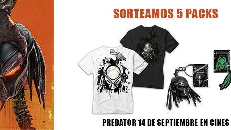 ¡SORTEAMOS 5 PACKS DE REGALOS DE 'PREDATOR'!