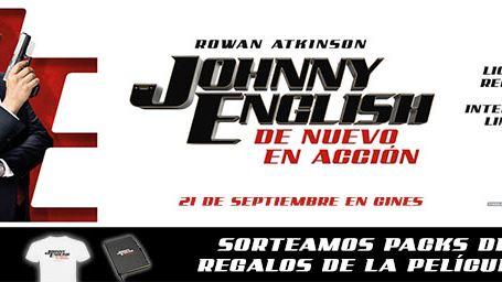 ¡SORTEAMOS PACKS DE REGALOS DE 'JOHNNY ENGLISH: DE NUEVO EN ACCIÓN'!