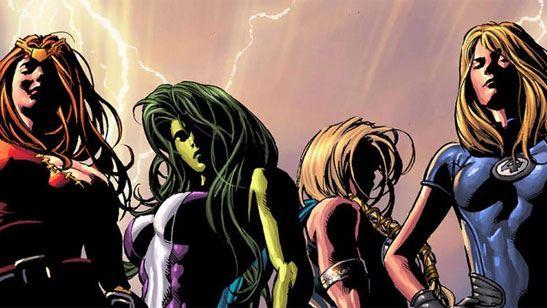 ABC prepara una serie protagonizada por superheroínas de Marvel