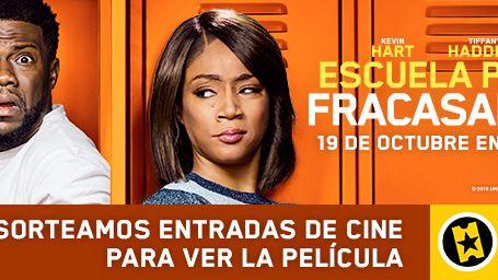 ¡Sorteamos 5 entradas dobles para ver en cines 'Escuela para fracasados'!