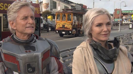 """'Vengadores 4': Michael Douglas adelanta que el Reino Cuántico """"es la clave"""""""