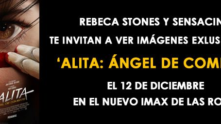 Rebeca Stones y SensaCine te invitan a ver imágenes exclusivas de 'Alita: Ángel de combate'