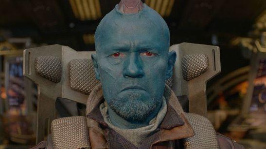 Un cine promociona 'El regreso de Mary Poppins' con Yondu de 'Guardianes de la Galaxia'