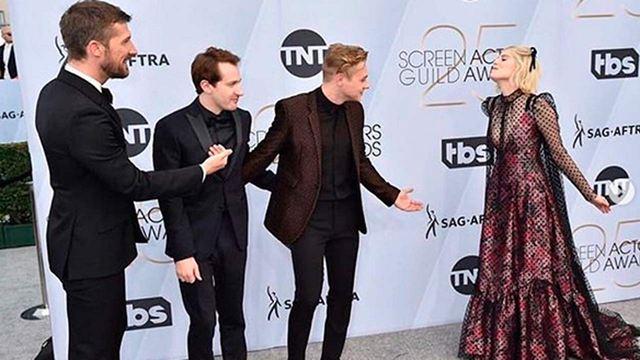 'Bohemian Rhapsody': El reparto demuestra su buen rollo en los SAG Awards