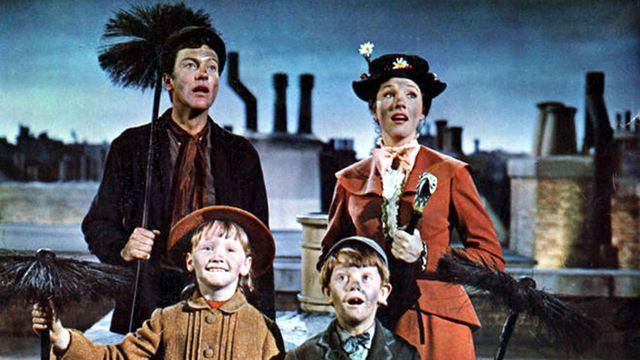 La 'Mary Poppins' original, acusada de racismo por la escena con la cara teñida de hollín