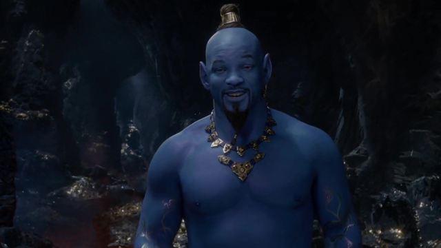 'Aladdin': El Genio de Will Smith ya es azul en el nuevo avance de la cinta