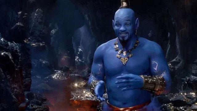 El Genio de Will Smith en 'Aladdin' imaginado como Thanos en 'Vengadores'