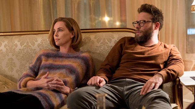'Casi imposible': Esta es la razón por la que la escena de sexo entre Charlize Theron y Seth Rogen dura sólo 10 segundos