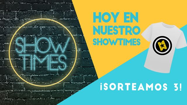 ¡Sorteamos 3 camisetas de SensaCine para fans de 'Showtimes'!