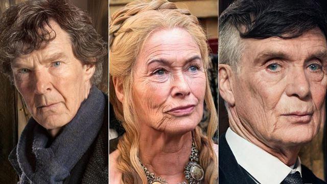 Así envejecerían tus personajes favoritos de series de TV