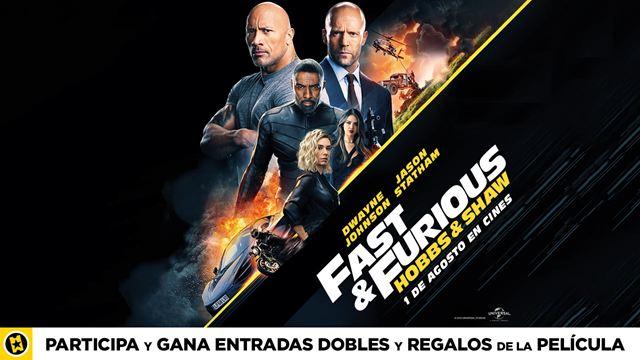SORTEAMOS PACKS DE REGALOS DE 'FAST & FURIOUS: HOBBS & SHAW'