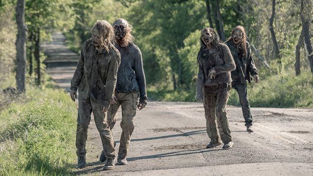 Tres explosiones nos salpican de sangre falsa en el rodaje de la quinta temporada de 'Fear The Walking Dead'