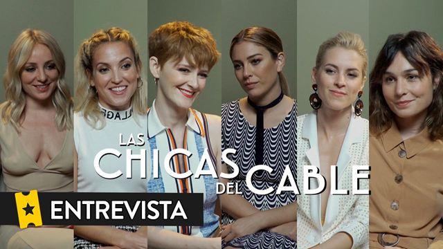 [Entrevista] 'Las chicas del cable' prometen más 'thriller' e intriga en la cuarta temporada