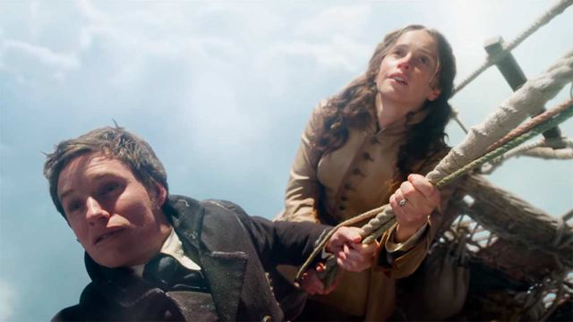 'The Aeronauts': Eddie Redmayne y Felicity Jones vuelan alto en el primer tráiler