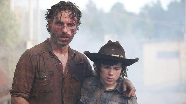 'The Walking Dead': Rick y Carl seguirán siendo parte de la historia en la temporada 10
