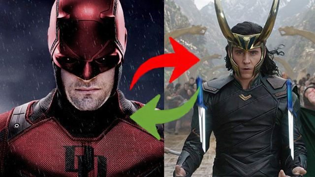 Charlie Cox se disfraza de Loki y Tom Hiddleston de Daredevil en Halloween