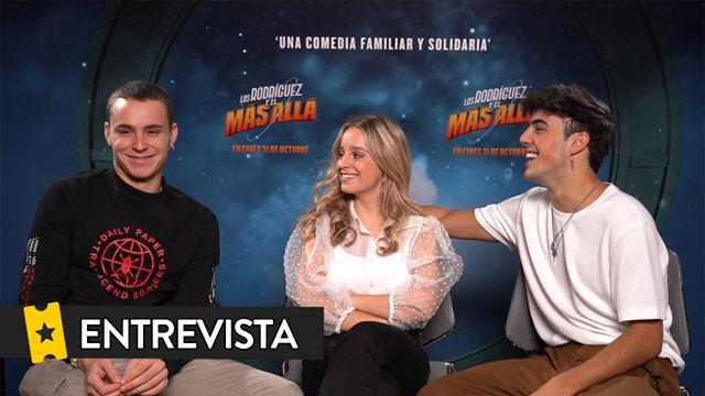"""Óscar Casas ('Los Rodríguez y el más allá'): """"Es una película muy loca y muy extrema, que no se ve en el cine de España"""""""