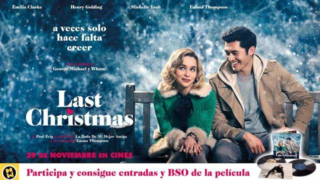 ¡SORTEAMOS 5 PACKS DE 'LAST CHRISTMAS'!