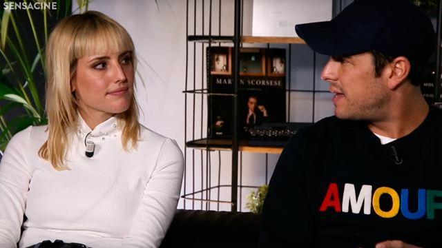 """Entrevista Mario Casas y Natalia de Molina ('Adiós'): """"Fue más fácil rodar en las 3000 que rodar en el centro de Sevilla"""""""