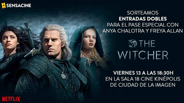 BASES LEGALES: PROYECCIÓN ESPECIAL 'THE WITCHER'