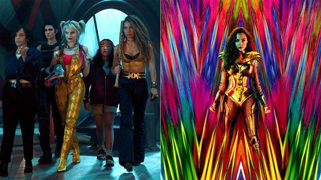Las protagonistas de 'Aves de presa', a favor de un 'crossover' con Wonder Woman