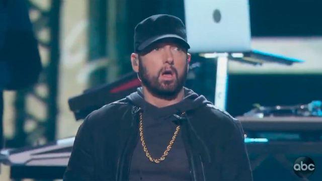 Oscar 2020: Eminem revoluciona la gala con su actuación de 'Lose Yourself'
