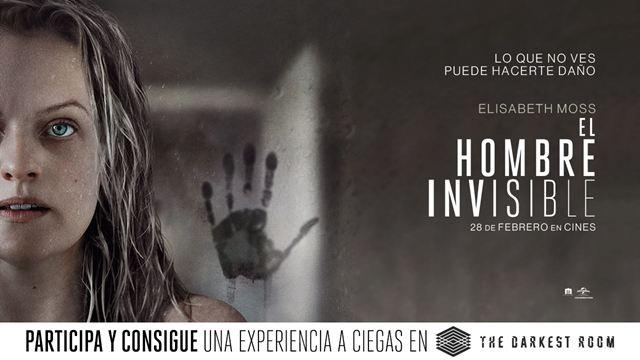 'El hombre invisible': ¡Sorteamos una experiencia en el 'escape room' a ciegas The Darkest Room!