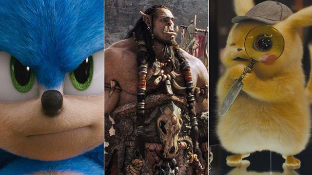 'Warcraft', 'Pokémon Detective Pikachu', 'Sonic. La película'... Las 20 películas basadas en videojuegos más taquilleras