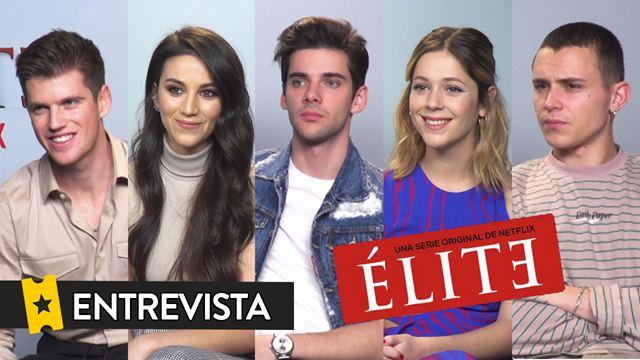'Élite' temporada 3: Entrevista a Claudia Salas, Álvaro Rico, Miguel Bernardeau, Arón Piper y Georgina Amorós