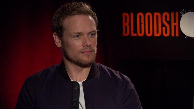 'Bloodshot': Hablamos con Sam Heughan, de 'Outlander', sobre su personaje