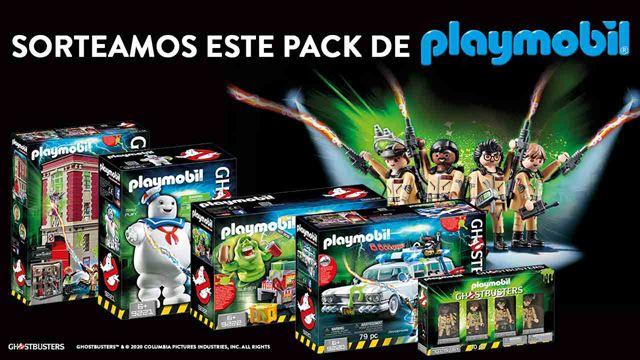 Sorteamos un mega pack de productos de Playmobil Cazafantasmas