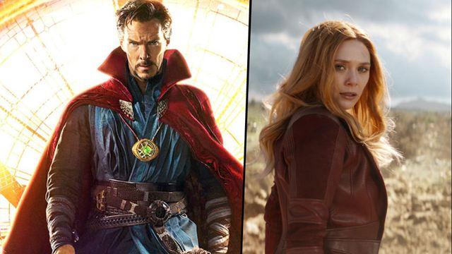 'Vengadores: Endgame': Doctor Strange y Bruja Escarlata iban a pelear juntos antes de 'In The Multiverse of Madness'