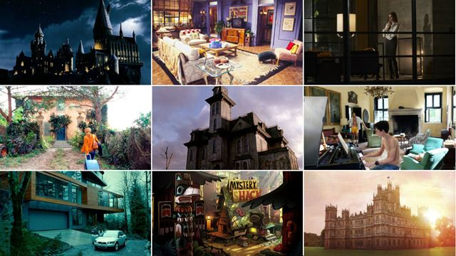 34 casas de cine y series donde nos gustaría pasar la cuarentena